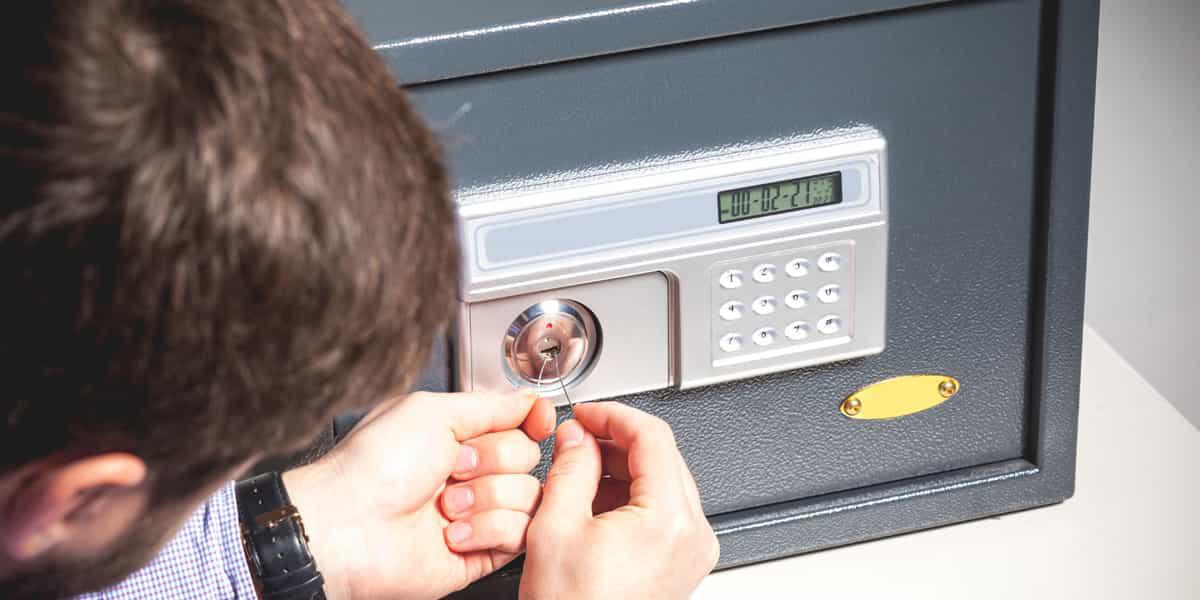 Ouvrir un coffre-fort n'a jamais été aussi rapide qu'avec Allo Dépanne !