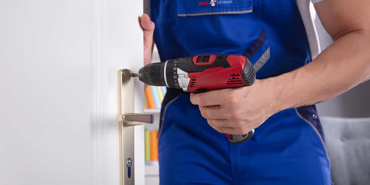 Demandez votre tarif ouverture de porte bloquée