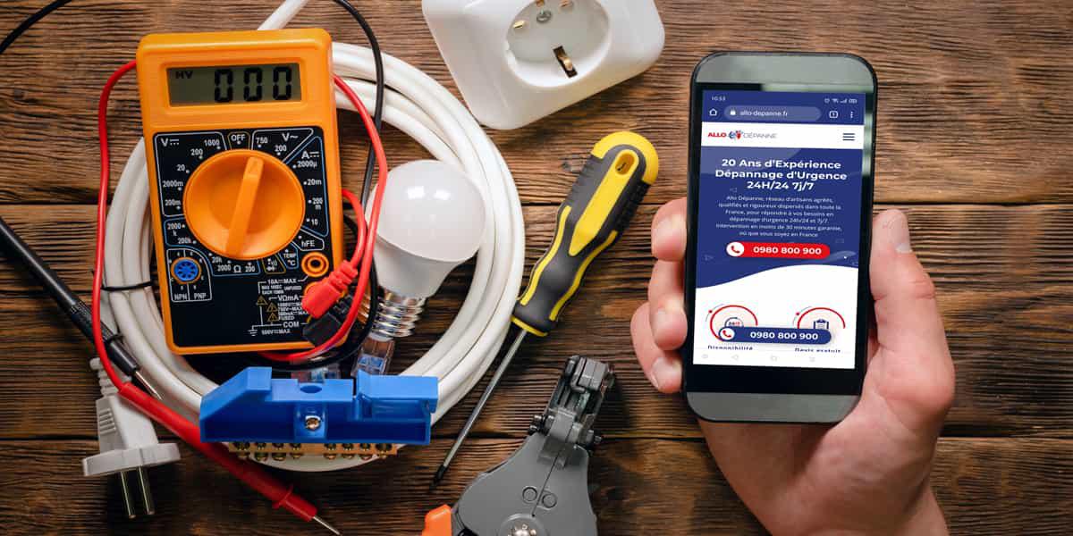 Entreprise d'électricité Villejuif: Allo Dépanne