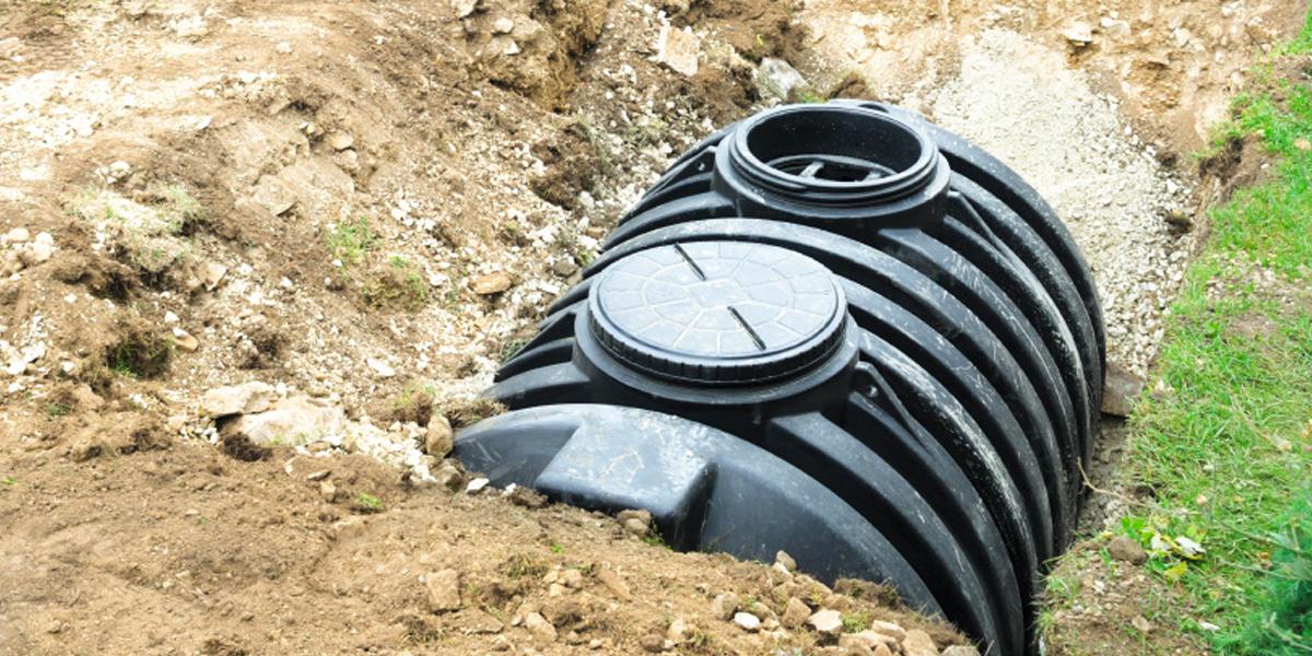 Fosse toutes eaux, distinction avec une fosse septique