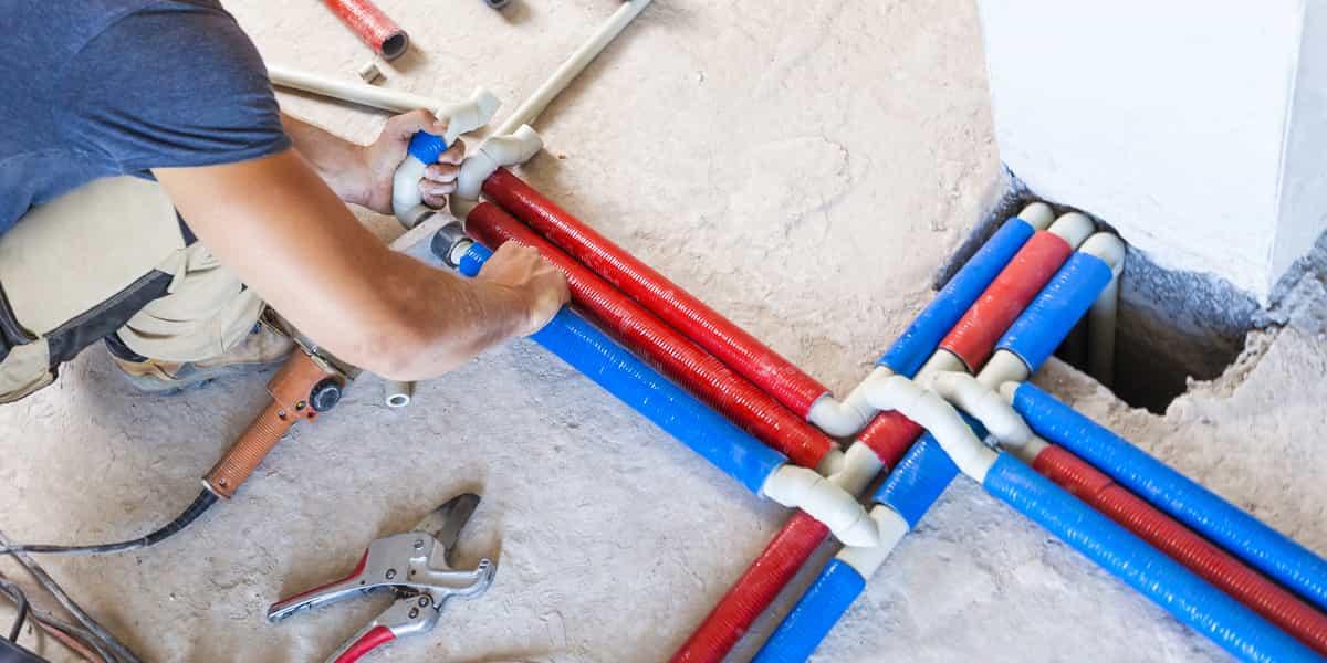Installation calibrée de votre tuyauterie et système de canalisations