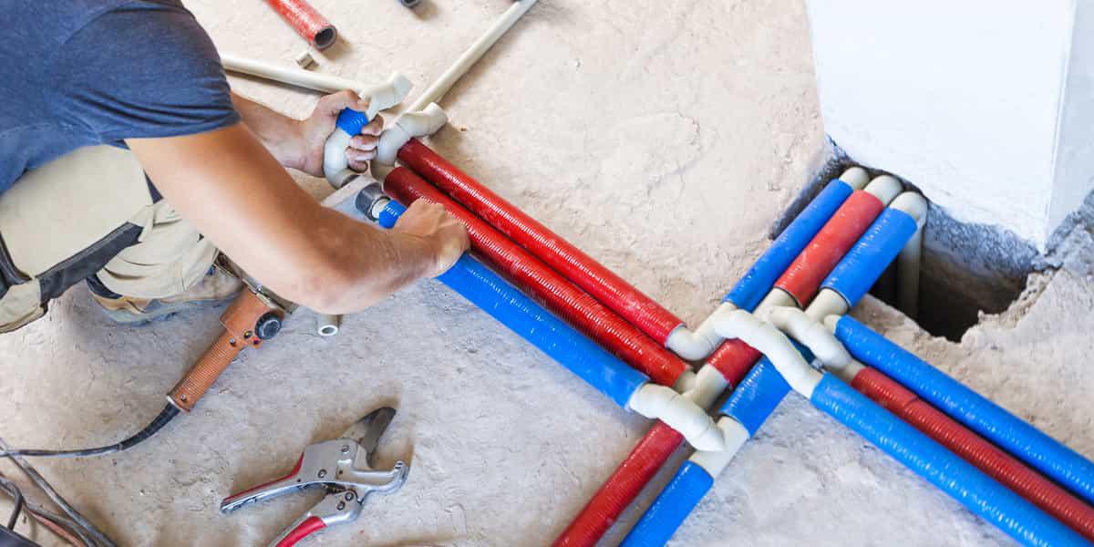 Installation de tuyauterie et des canalisations