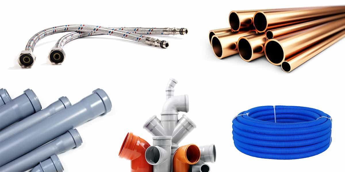Les différents types de tuyauterie