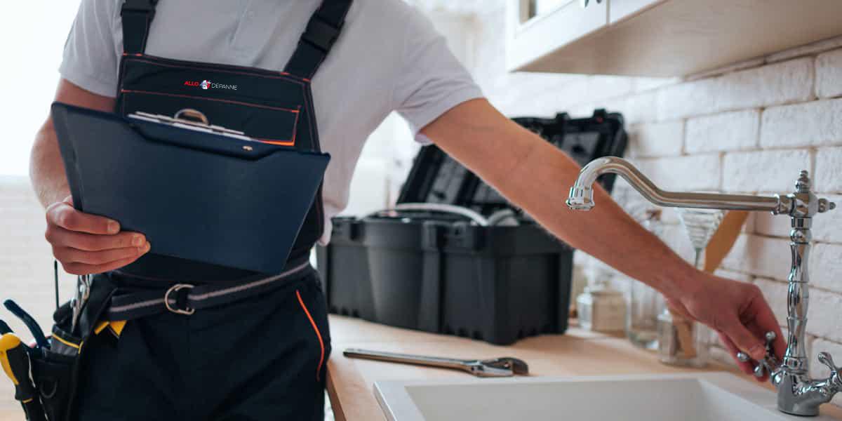 Nous intervenons aussi pour l'entretien et la réparation de votre robinetterie