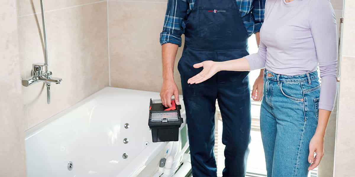 Plombier sanitaire Gennevilliers