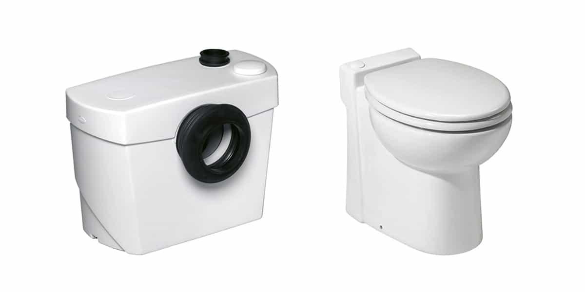 Types de WC Sanibroyeur