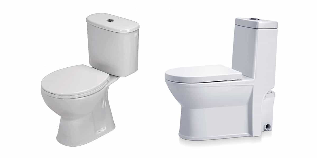 Types de WC à poser les plus répandus dans le 77